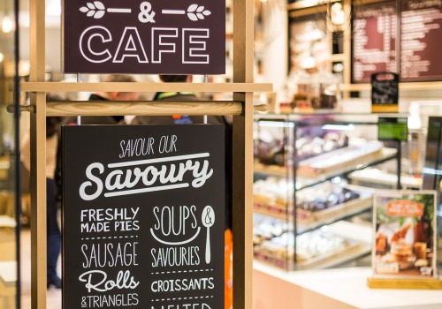 Muffin Break, UK Coffee Shop Franchise  More than just muffins…